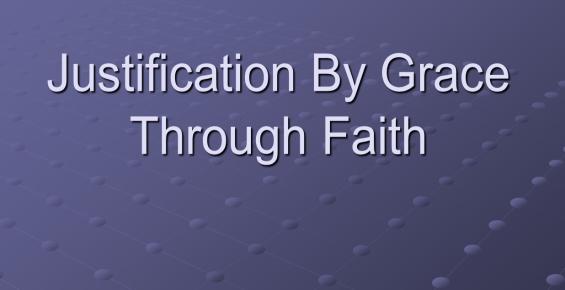 GraceThroughFaith